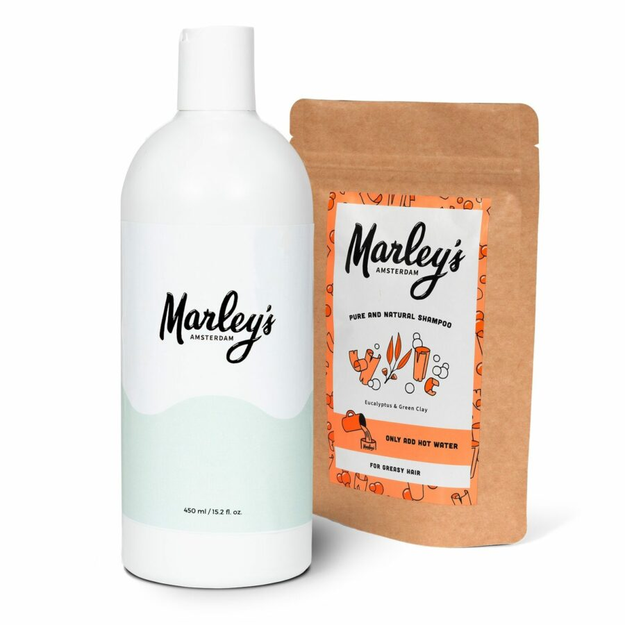 Starterspakket | Herbruikbare fles + Shampoo naar keuze